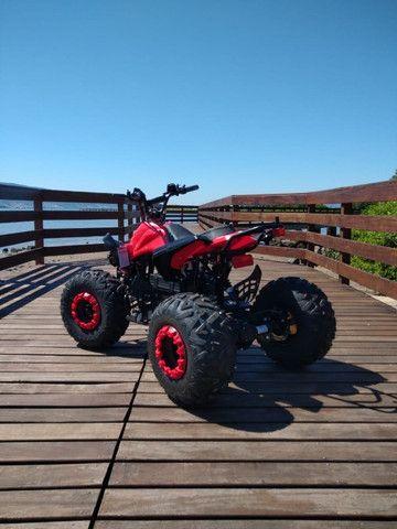 Quadriciclo Elétrico 1000w - Vermelho / Novo - Foto 5