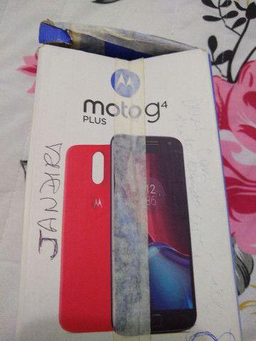 Vendo smartphone Motorola motog4 com nota fiscal - Foto 3