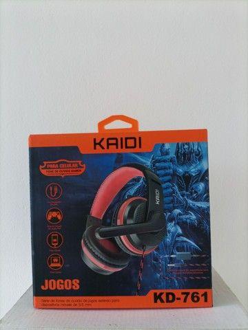 Fone Headset Kaidi-761 - Foto 3