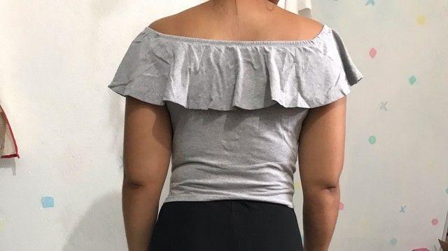 Blusa ombrinho  - Foto 2