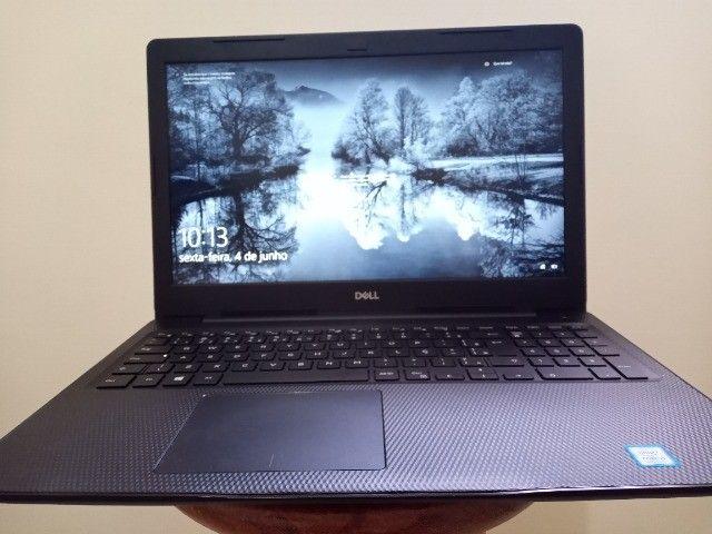 Notebook Dell inspiron 15,6pol i5 3.9Ghz RAM 16GB ssd 256GB Leitor Digital