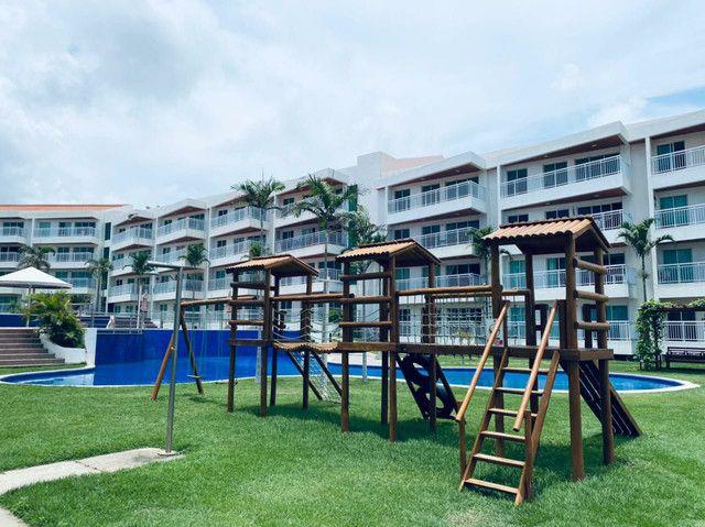 Apartamento três quartos, alto padrão, lazer completo, Porto das Dunas! - Foto 6