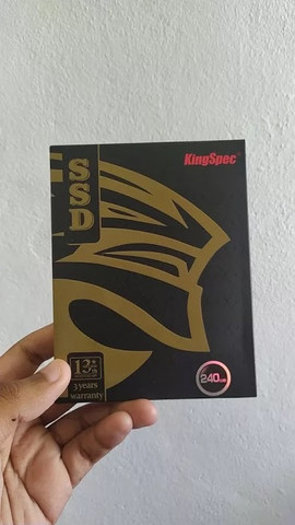 Hd Ssd 240Gb Sata 3 KingSpec Novo Pronta Entrega