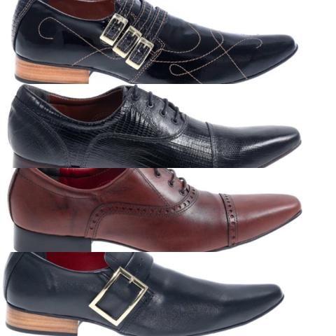 9a8a8ecec438c Sapatos social masculino - luxo - feitos artesanalmente - COURO PURO - Foto  3