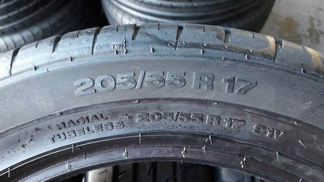 4 pneus Continental, 205/50/17