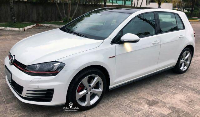 Volkswagen Golf GTi 2.0 220cv TSI Aut. Branco