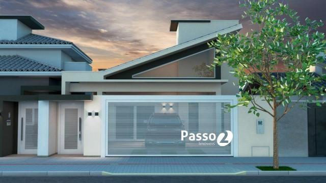 Casa na planta com 01 suite + 2 quartos