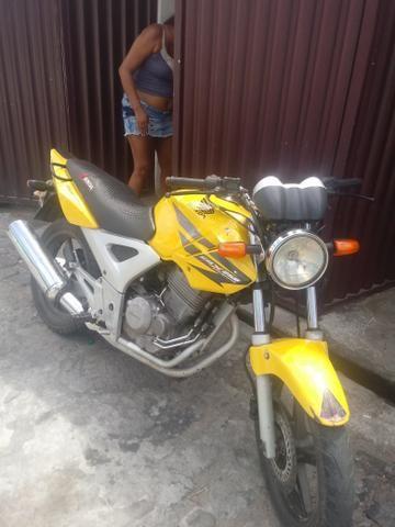 Vendo ou troco por carro moto Twist 2008 - Foto 5