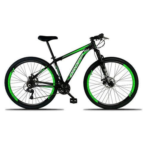 Bicicleta 21 Marchas Alumínio e Freio a Disco