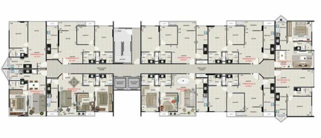 Apartamentos a venda ALOISIO TAVARES, quarto e sala e 2 quartos. Stella Maris, Maceió AL - Foto 9