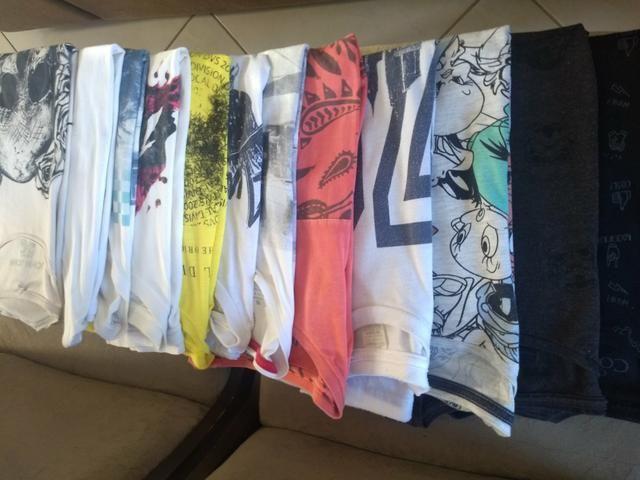 Lote de camisetas - Foto 2
