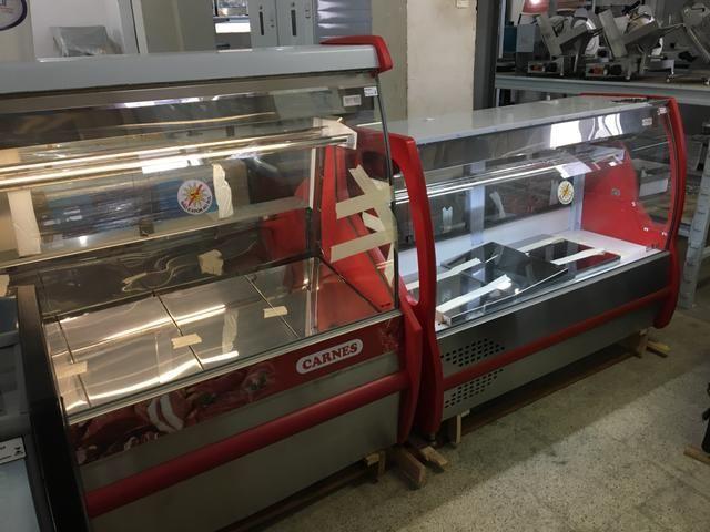 Balcão refrigerado para carnes com bandejas em inox - tamanho 1,50m - Foto 4