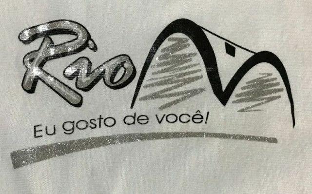 Camiseta de malha feminina com estampa Rio de Janeiro  - Foto 3