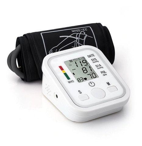 Medidor De Pressão Arterial Digital Aparelho Automático Novo - Loja Natan Abreu - Foto 5