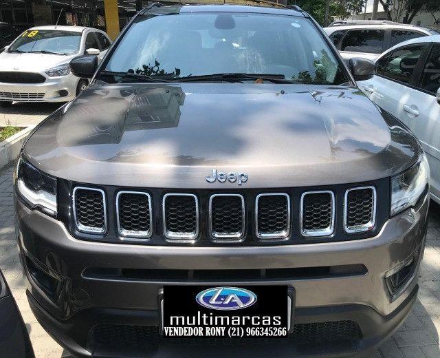 Jeep Compass Longitude 2.0 Aut. 2019. Entrada a partir de 20.500,00 + 48x de 1.699,00 - Foto 2