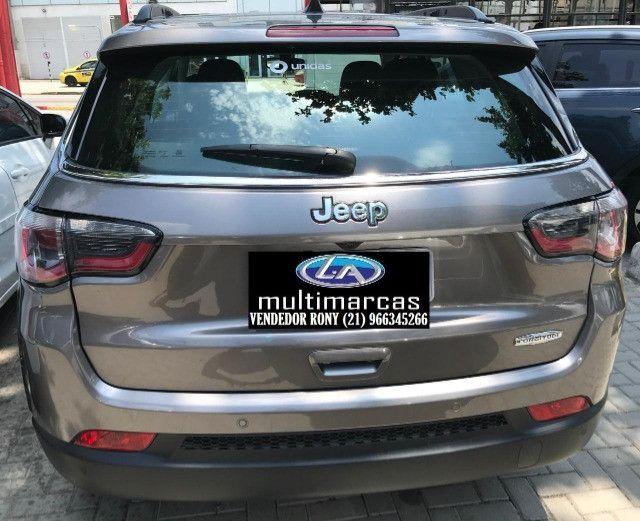 Jeep Compass Longitude 2.0 Aut. 2019. Entrada a partir de 20.500,00 + 48x de 1.699,00 - Foto 4