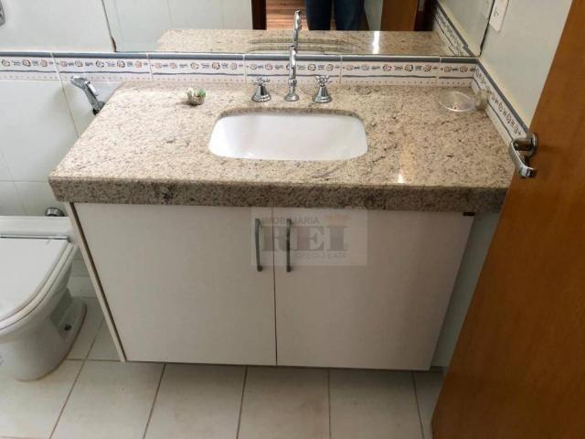 Apartamento com 4 dormitórios para alugar, 270 m² por R$ 3.880/mês - Setor Central - Rio V - Foto 15