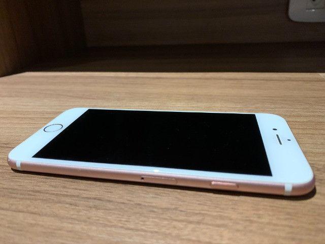 Iphone 6S Rose Gold 64GB única dona, sem nenhum arranhão - Foto 3