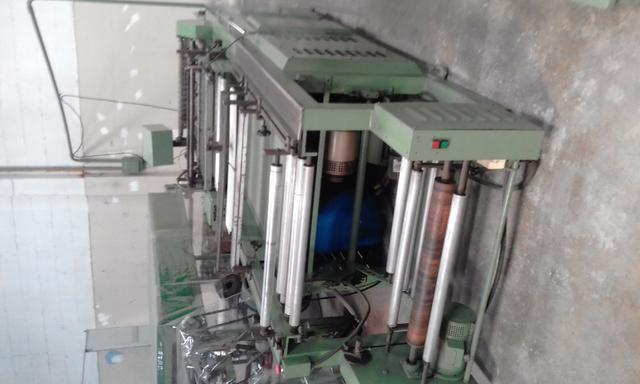 Máquina de Corte e Solda de plástico