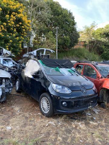 Sucata para retirada de peças- VW UP - Foto 4