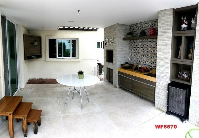 Condomínio Stellarium, casa tríplex com 5 suítes, 8 vagas de garagem, Elevador - Foto 11