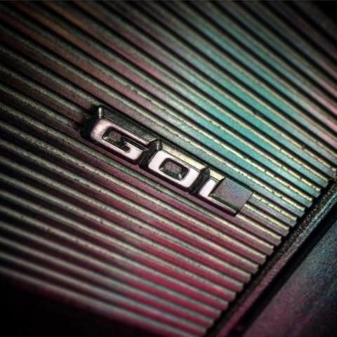 Gol Bx 1982 com rodas aro 17, suspensao fixa legalizada - Foto 8