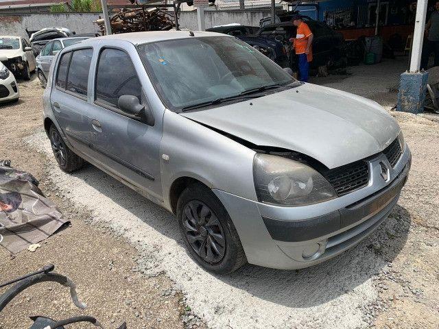 Renault Clio 1.0 2011 Sucata para retirada de peças