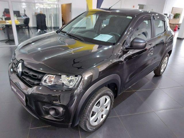 Renault Kwid Zen 2018 preto - Foto 4