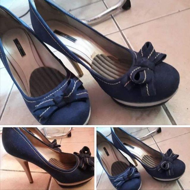 Pep Toe Azul