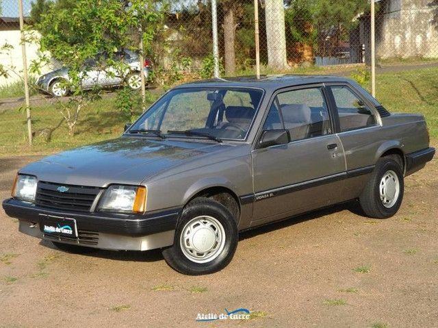 Monza SL 1990 1.8 Marrom Alabama - Rara originalidade e integridade. Vale a pena ver! - Foto 2