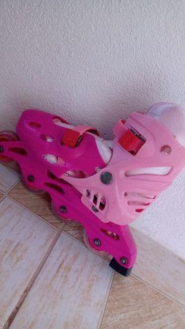 Patins rosa - Foto 3