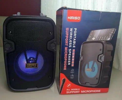 Caixa De Som Usb Mp3 KMS-2002 Com Bluetooth  - Foto 2