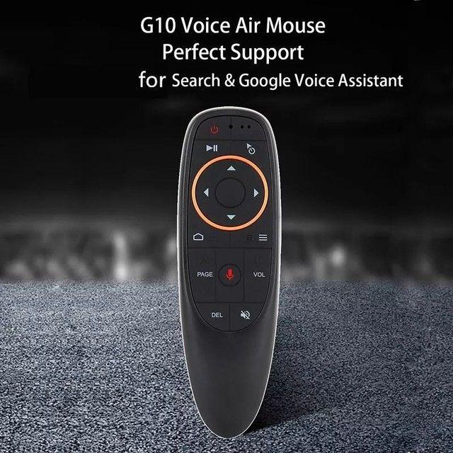Controle Air Mouse C/ Comando De Voz Google E Giroscópio