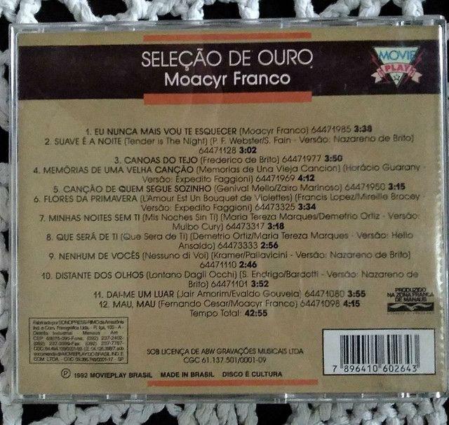 CD Moacir Franco Seleção de Ouro - Foto 2