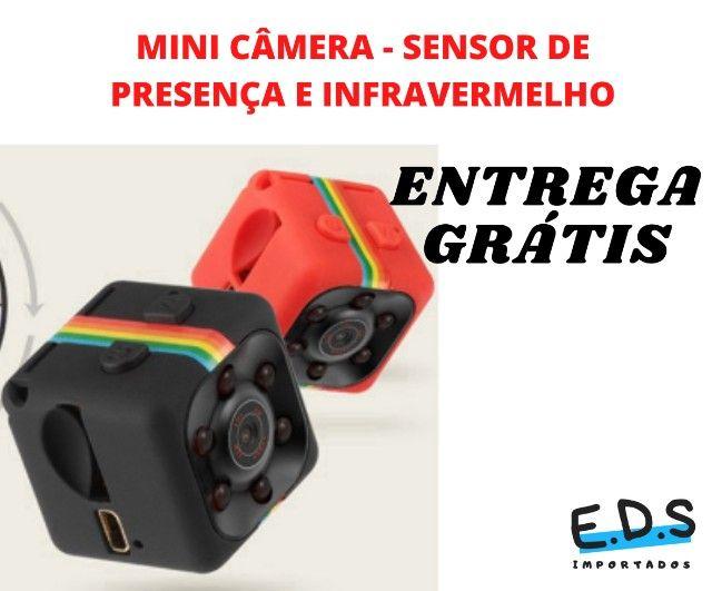 Mini Câmera SQ11 Espiã Visão Noturna Full HD - Foto 3