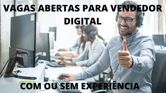 Procuro vendedor digital