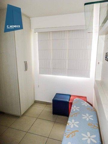 Apartamento com 3 dormitórios à venda, 60 m² por R$ 440.000,00 - Fátima - Fortaleza/CE - Foto 13