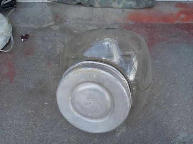 Baleiros antigos vidro . Leia a  baixo