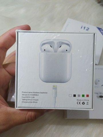 Fone Bluetooth sem fio i12 TWS - Foto 5