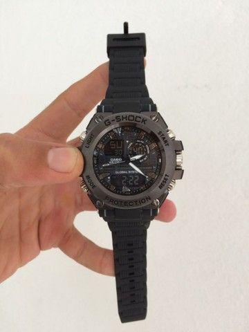 Relógio G-Shock Caixa de aço A prova d'água.  - Foto 6