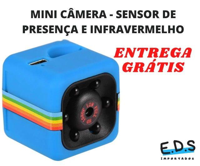 Mini Câmera SQ11 Espiã Visão Noturna Full HD - Foto 5