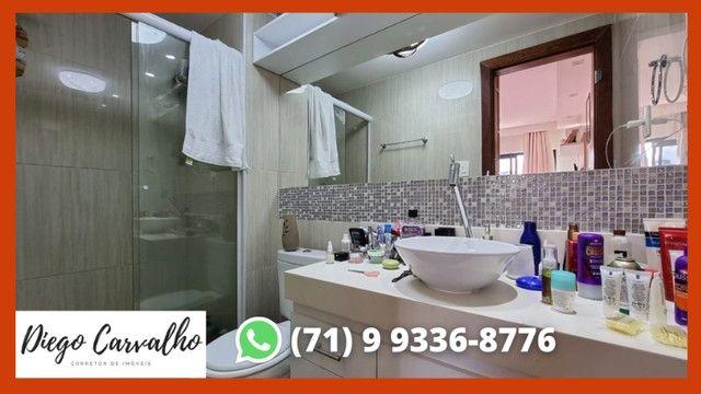 Bosque Patamares - Apartamento impecável 2 quartos, sendo uma suíte em 65m²  - (R2) - Foto 14