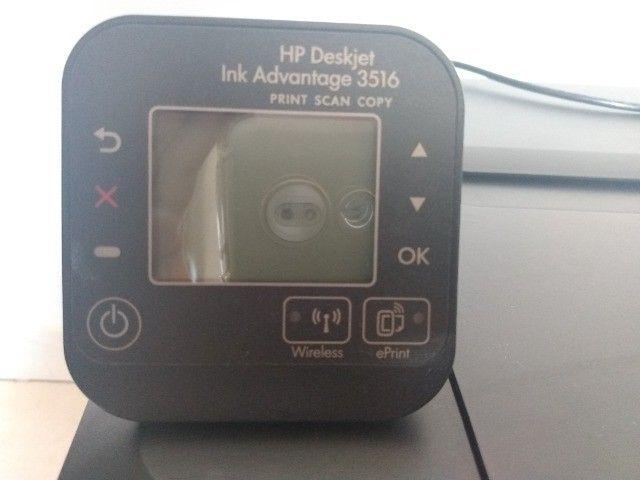 Impressora  Scanner HP Modelo Ink Advantage3516 - Foto 2