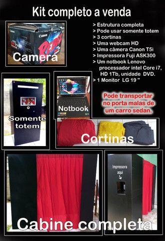 Vendo - Cabine de Fotos completa - Kit completo. (Pode transportar em carro popular)