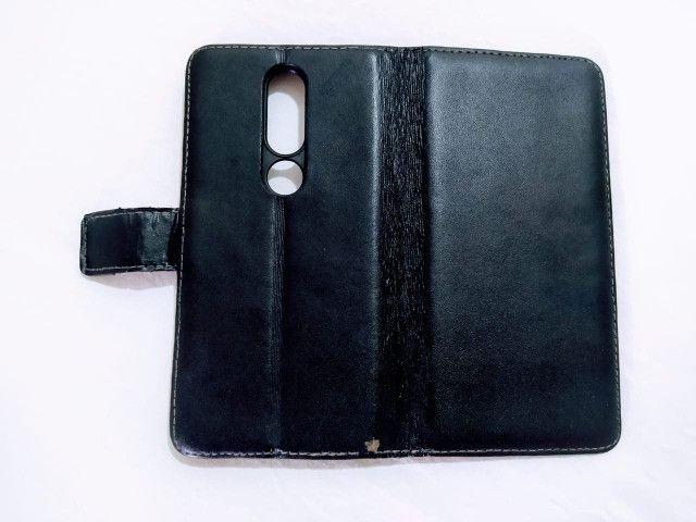Capa Carteira Flip Nokia X6 - Foto 3