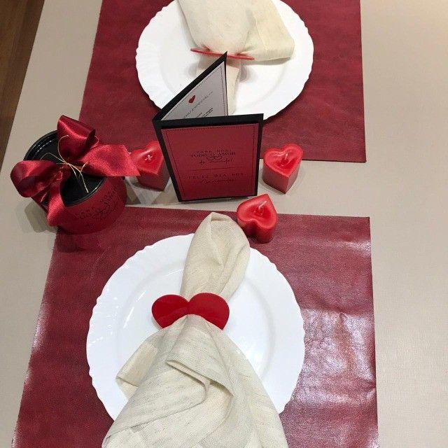 Kit Jantar Dia dos Namorados