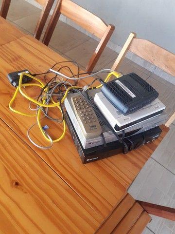 Aparelhos diversos, parabólica, roteador, aparelho Internet, da Orbisat - Foto 5