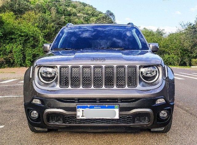 Jeep Renegade Limited 2019 único dono - teto.