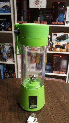 Mini Liquidificador Portátil Shake Juice Cup + Cabo Usb - Foto 5