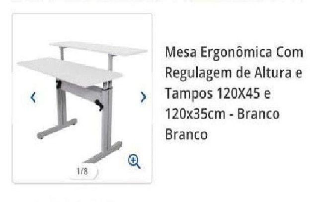 Mesa Ergonomica com Regulagem de altura - Promoçao